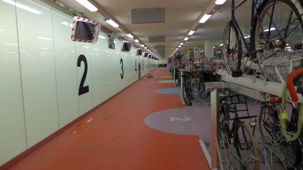 Ondergrondse Fietsenparkeergarage Rotterdam Centraal