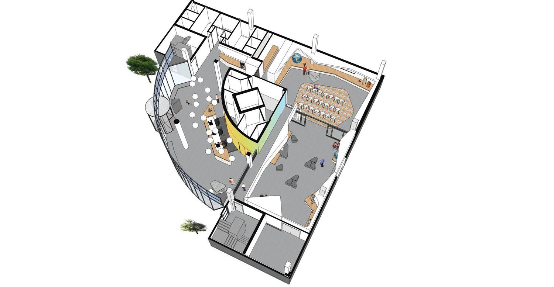 axonometrie: Fokkema&Partners Architecten
