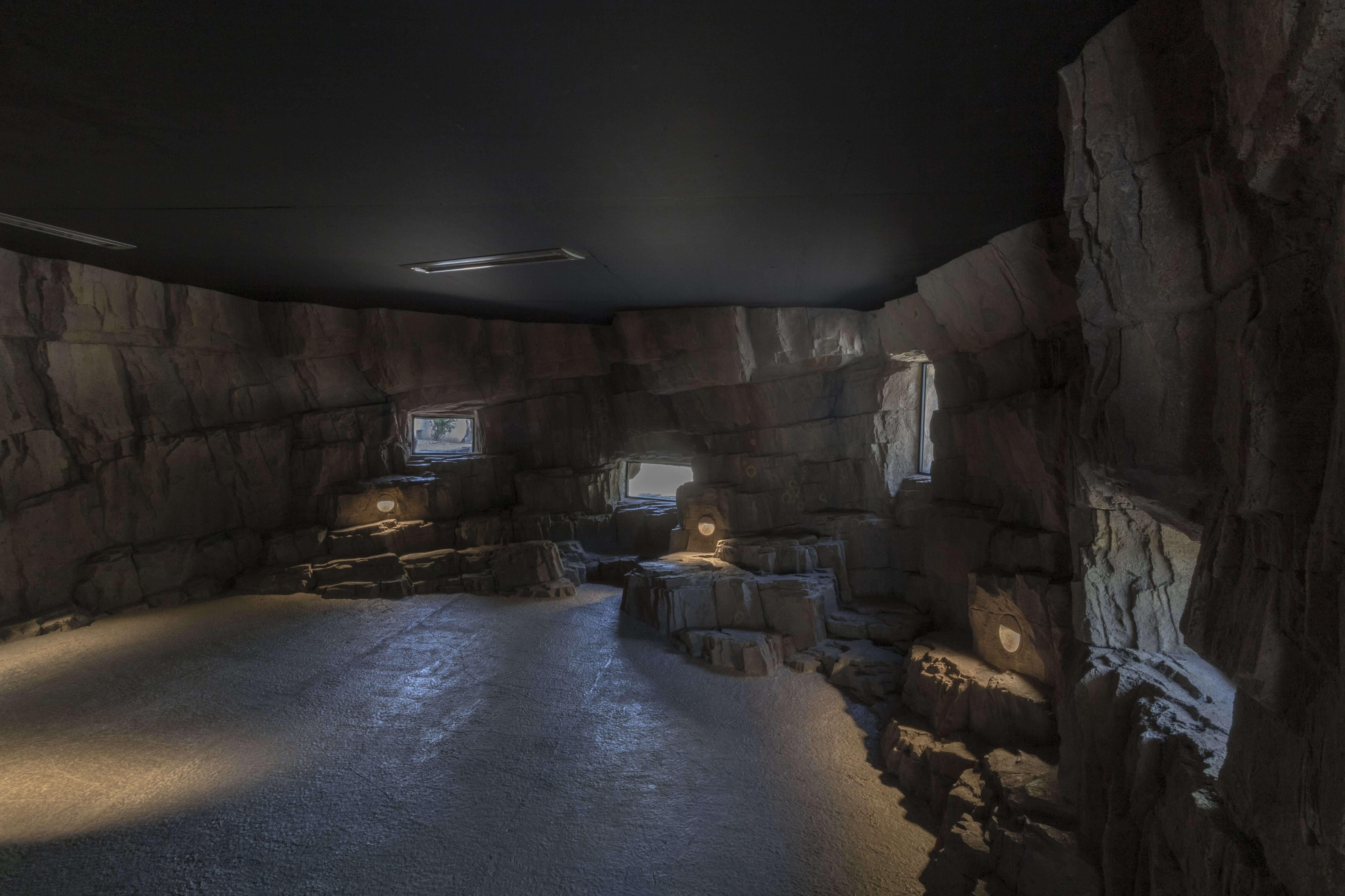 Interieur rots