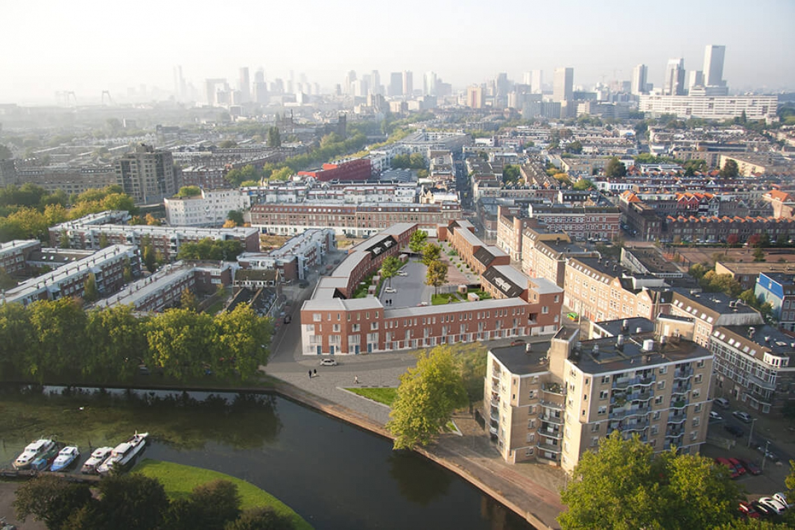130 watt rotterdam architectuurprijs for Starterswoning rotterdam