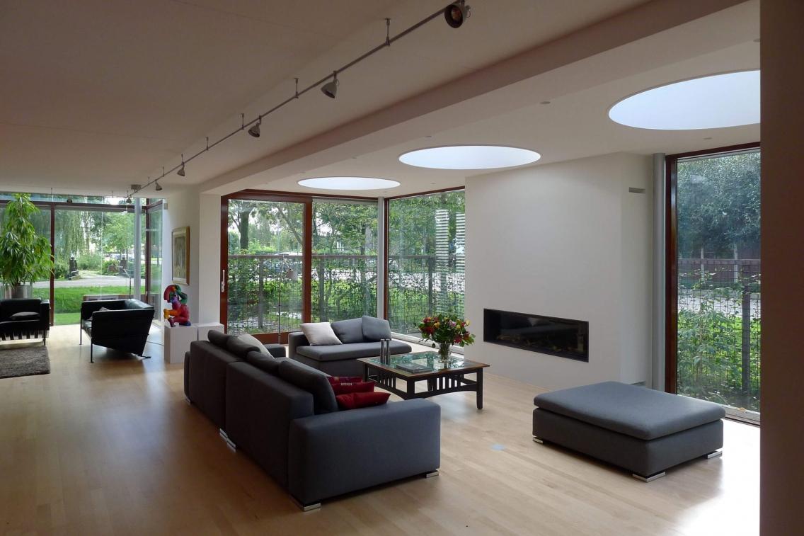 Aanbouw woning prinsenland kralingseweg 436 rotterdam architectuurprijs - Uitbreiding huis glas ...