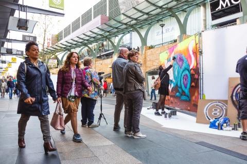 Transformatie van de KoopGoot naar tijdelijke street art-vrijhaven