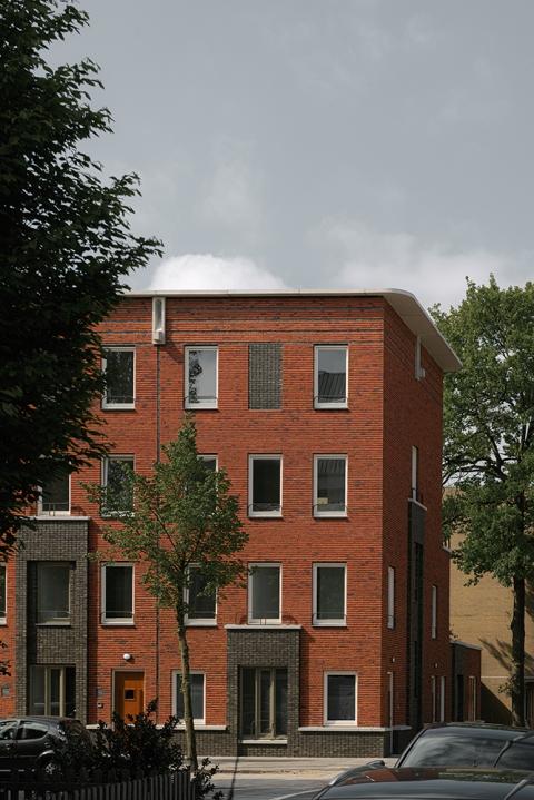 Huizen met 2 deuren