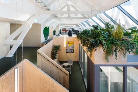 Upfield kantoor 'the Attic'