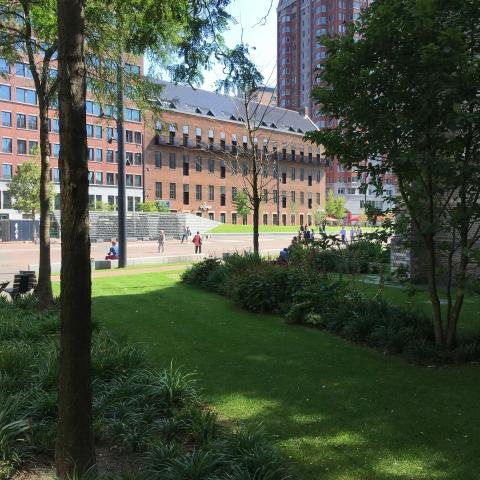 Transformatie voormalig PTT gebouw, Rotterdam