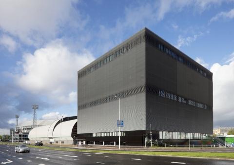 Uitbreiding Topsportcentrum Rotterdam