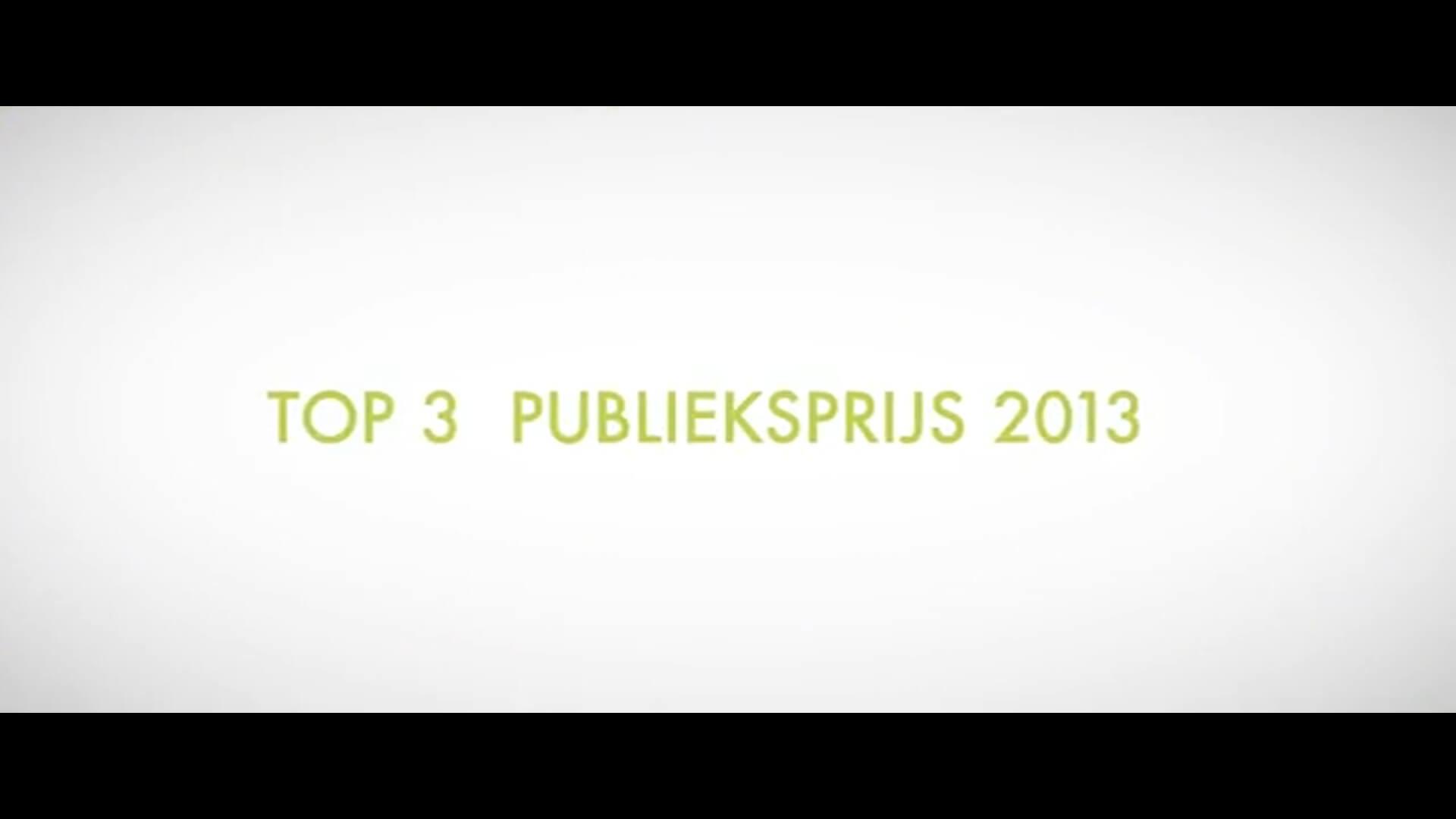 Prijsuitreiking 2013